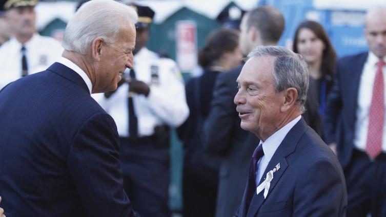 Džo Bajden i Majkl Blumberg