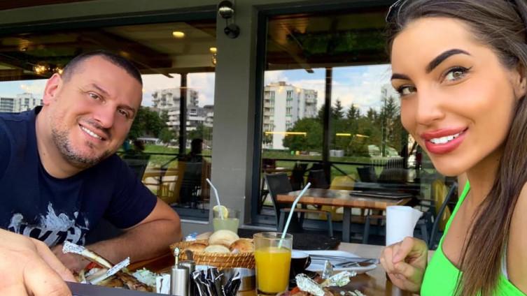 Džafić sa suprugom