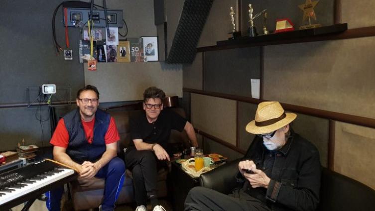 Geronimo, Žera i Pejaković u studiju