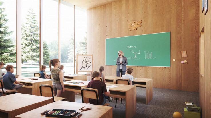 Učionice su organizirane u krug