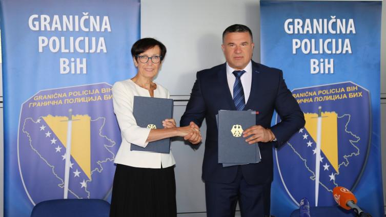 Potpisan sporazum o donaciji SR Njemačke Graničnoj policiji BiH