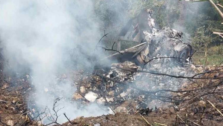 S mjesta nesreća: Ostala olupina aviona