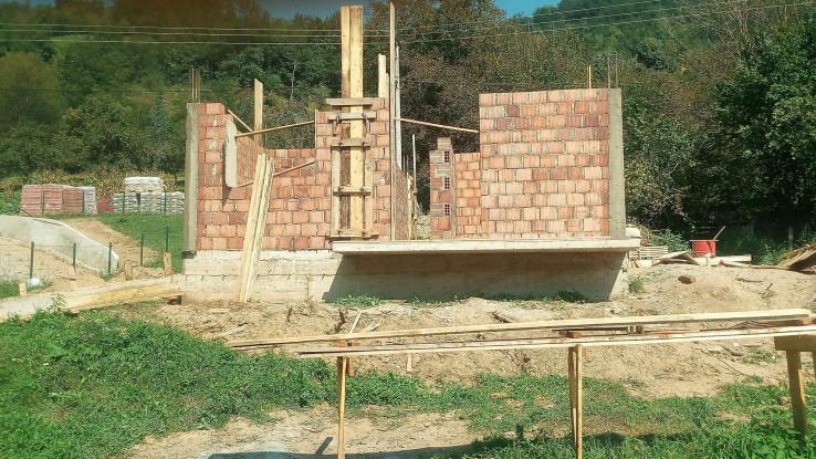 Objekt izgrađen do krova