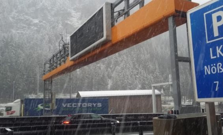 Snijeg u Austriji