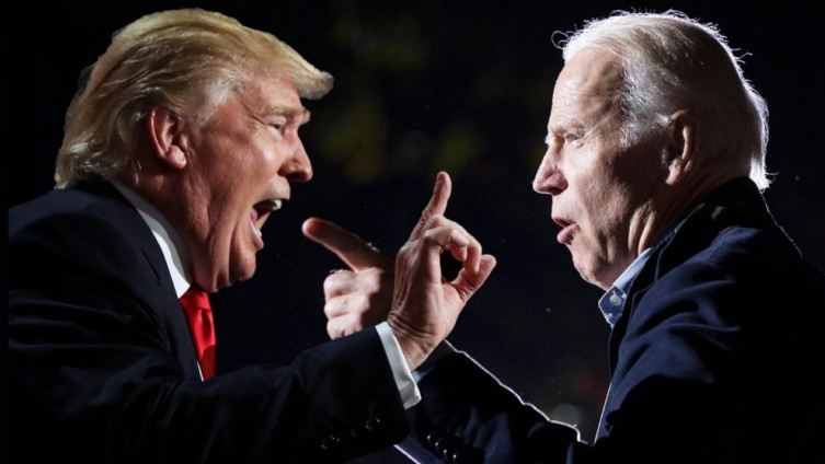 Donald Tramp i Džo Bajden