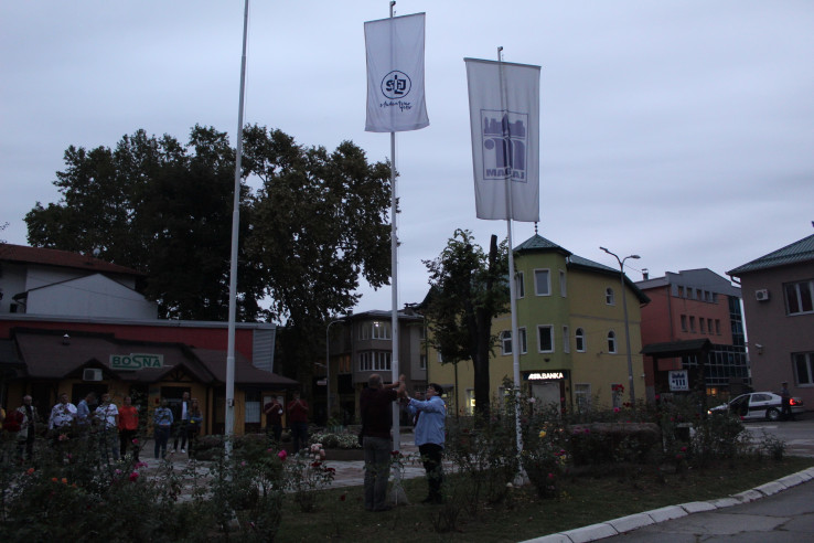 Simbolično podizanje zastave