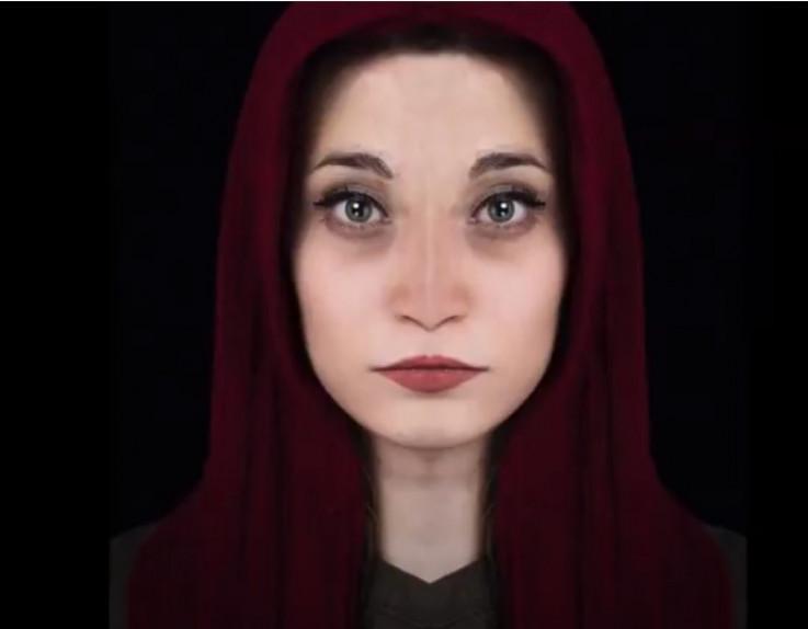 Rekonstrukcija Marzinog lica
