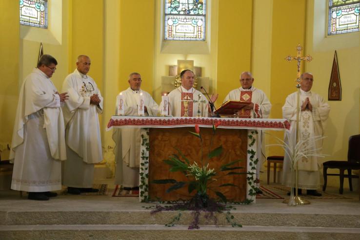 Biskup Panić je istakao da je ovo prvi put da je u Trebinju službeno od preuzimanja službe