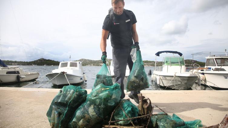 Najveća ronilačka akcija čišćenja mora kod Šibenika