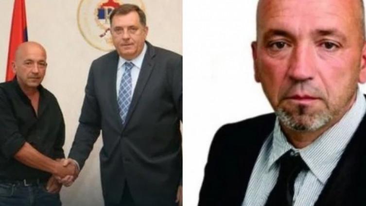 Milorad Dodik i Bogdan Đukić
