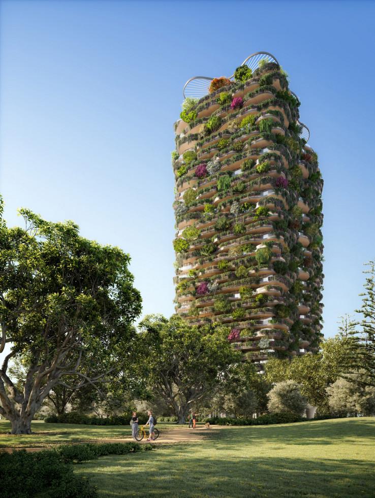 Urban Forest  bit će najzelenija stambena zgrada na svijetu