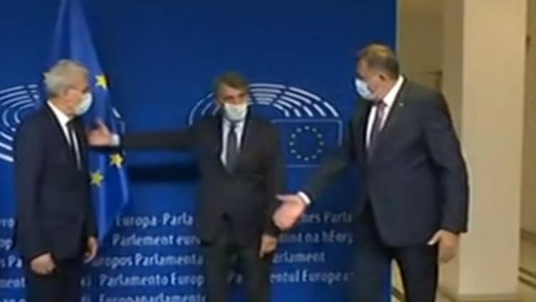 Dodik nije ispoštovao želju domaćina sastanka