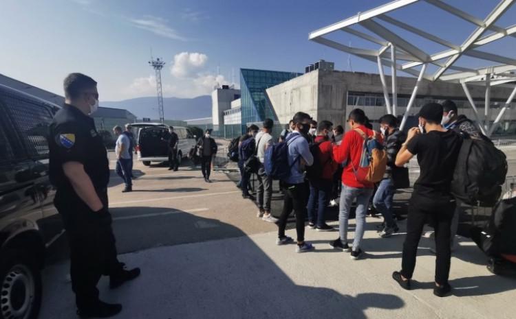 Migrantima izrečene zakonom propisane mjere