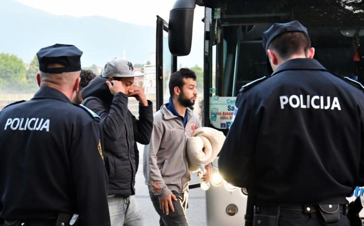 Migranti tokom 2019. godine počinili 205 krivičnih djela
