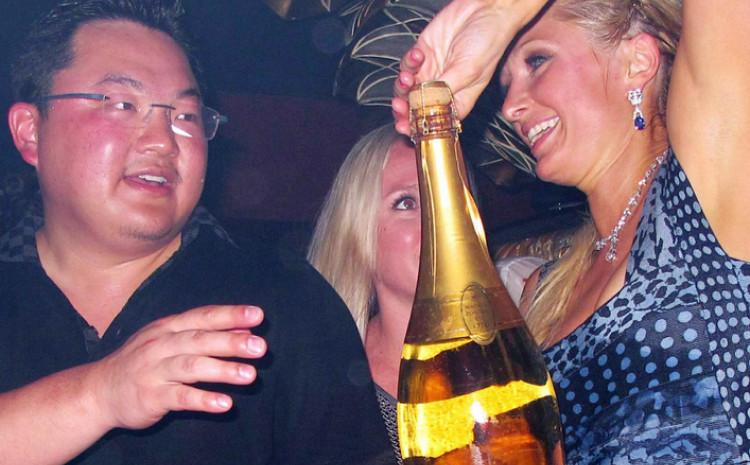 Jho Low na ludoj zabavi s Paris Hilton