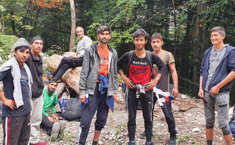 Migranti lutaju Plješevicom