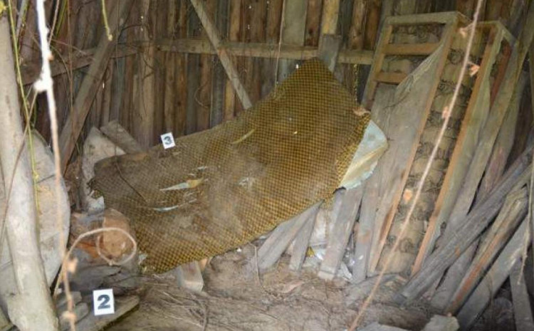Mjesto gdje je pronađeno Lukićevo tijelo