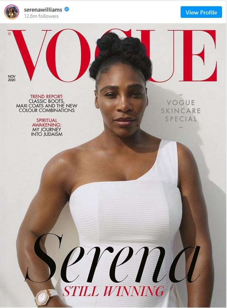 """Serena Vilijams na naslovnici magazina """"Vogue"""""""