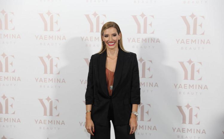 Joksimović: Zablistala na predstavljanju kozmetičke linije Emine Jahović
