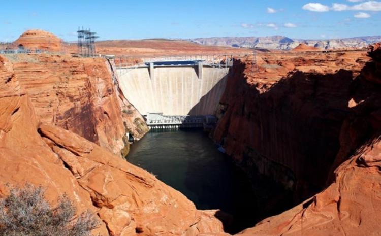"Fotografirao na pregradi brane ""Glen Canyon"""