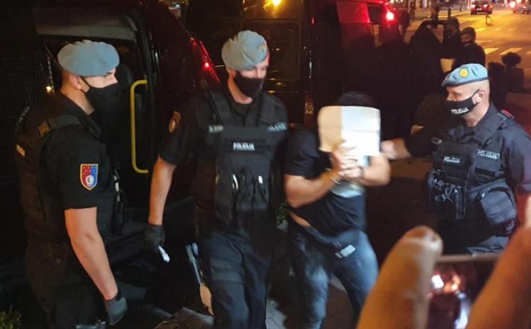 S privođenja jednog od uhapšenih u prvom dijelu akcije