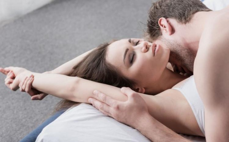 Položaj poput ovog idealni su jer seks učine romantičnijim