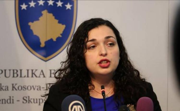 Osmani: Spremna preuzeti funkciju predsjednika