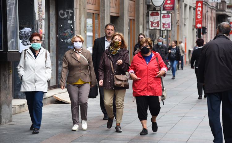 Kazne za nenošenje maski