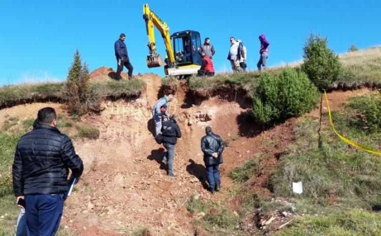 Iskopavanja na lokalitetu Jabučko Sedlo