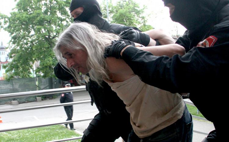 Privođenje Šabića nakon hapšenja