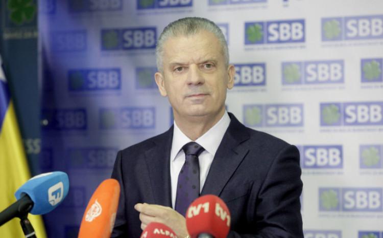 Fahrudin Radončić, predsjednik SBB-a