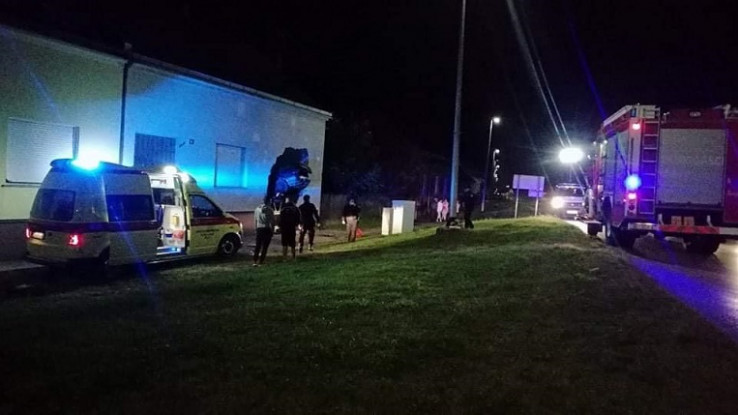 Policija na licu mjesta