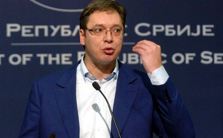 Vučić: Najavio brobu do kraja bez straha i kompromisa