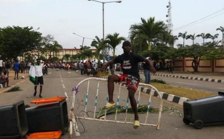 Masovni protesti u Lagosu