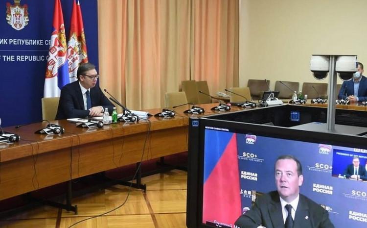 Vučić i Medvedev