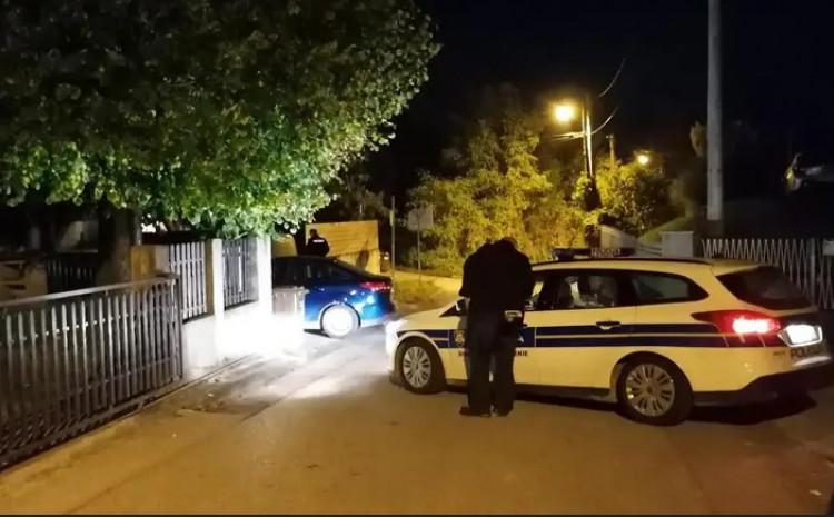 Policija na mjestu tragedije
