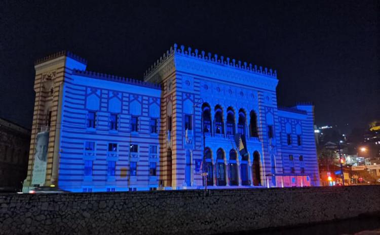 """I Sarajevo se pridružilo inicijativi """"Evropa u plavom za UN Dan"""""""