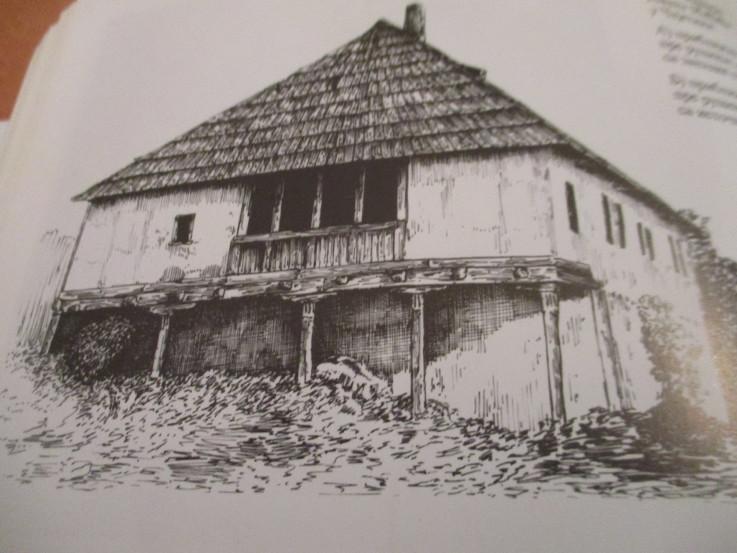 Stara građevinska zdanja osaćanskih neimara