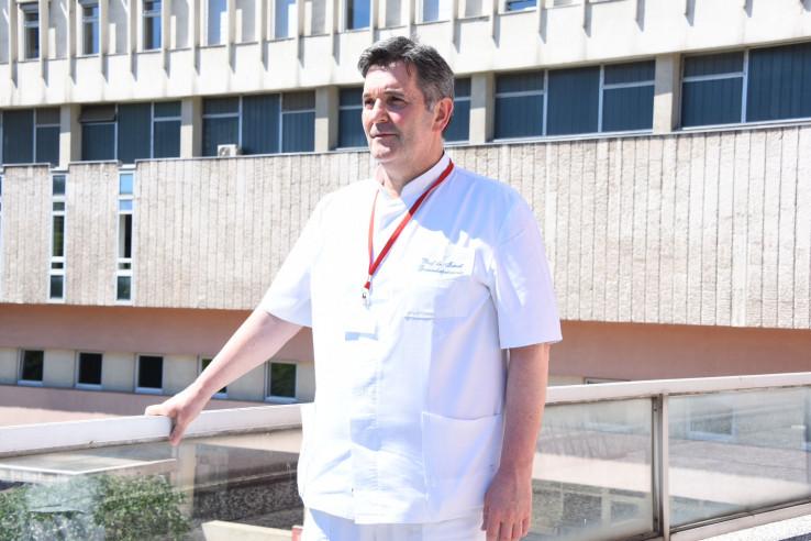 Gavrankapetanović: Infektivna klinika prazna