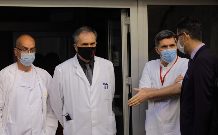Ispred Opće bolnice danas održana pres-konferencija