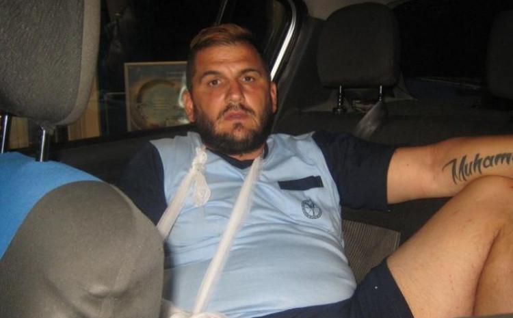 Meho Bešić nakon ranjavanja  2017. godine