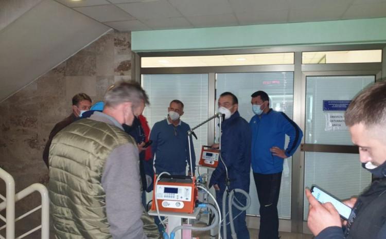 Pokušaj instalacije respiratora u goraždanskoj bolnici