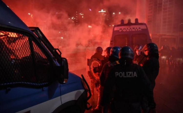 Italija: Policija hapsila demonstrante