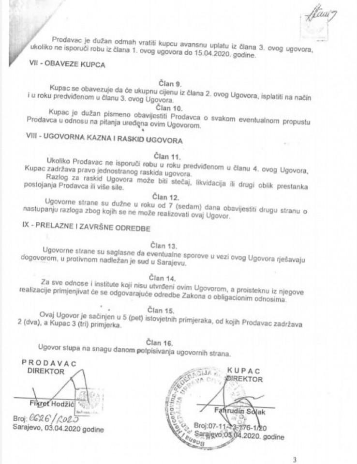 Ugovor Srebrena maline i FUCZ-a