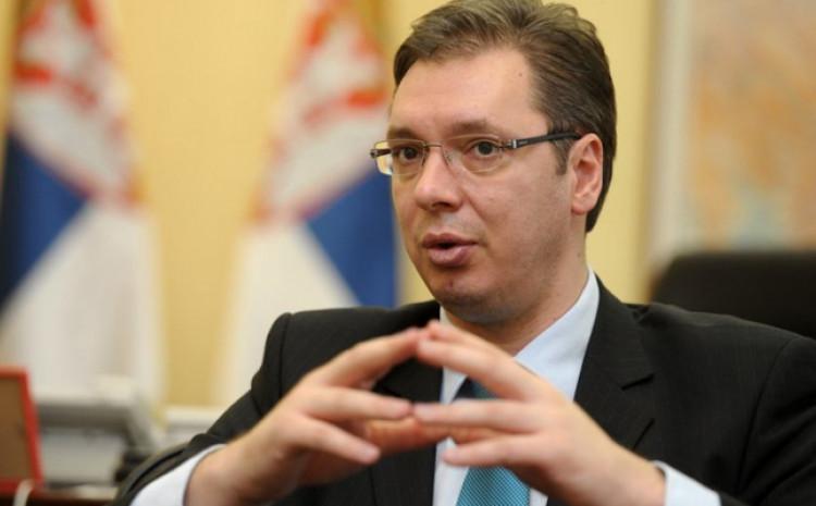 Vučić: Vidio sam da se u osam sati i 20 upokojio