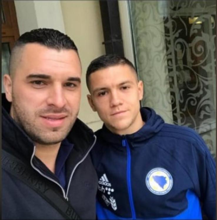 Ferizovic i Muhamed Bešić: Sastali se u Sarajevu