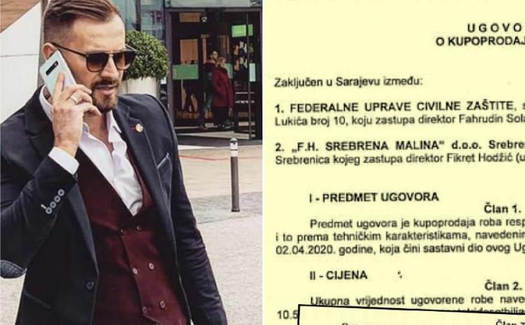Faksimil ugovora Hodžića i Solaka, šta piše u vezi garancije