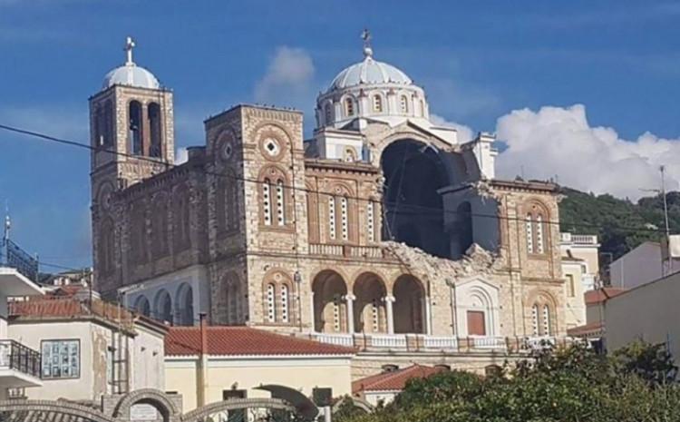 Oštećena crkva