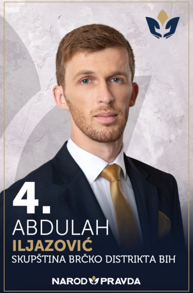 Abdulah Iljazović, kandidat NiP-a na izborima