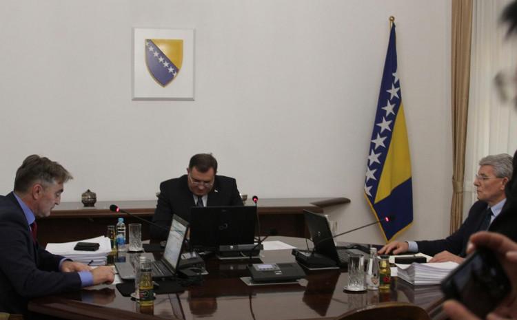 Predsjedništvo BiH još 16. septembra od Vijeća ministara zatražilo analizu inicijative